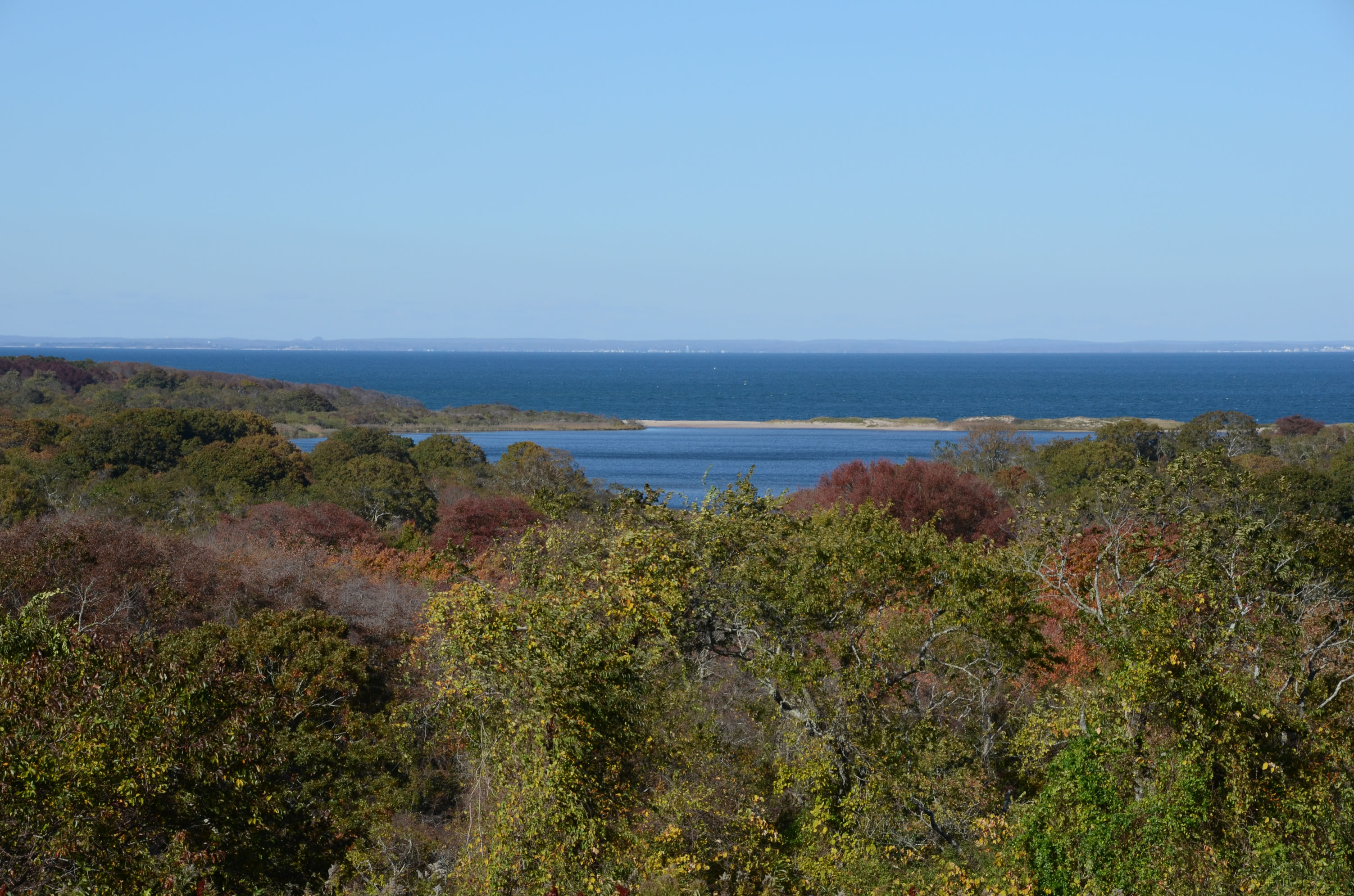View for near Montauk Point