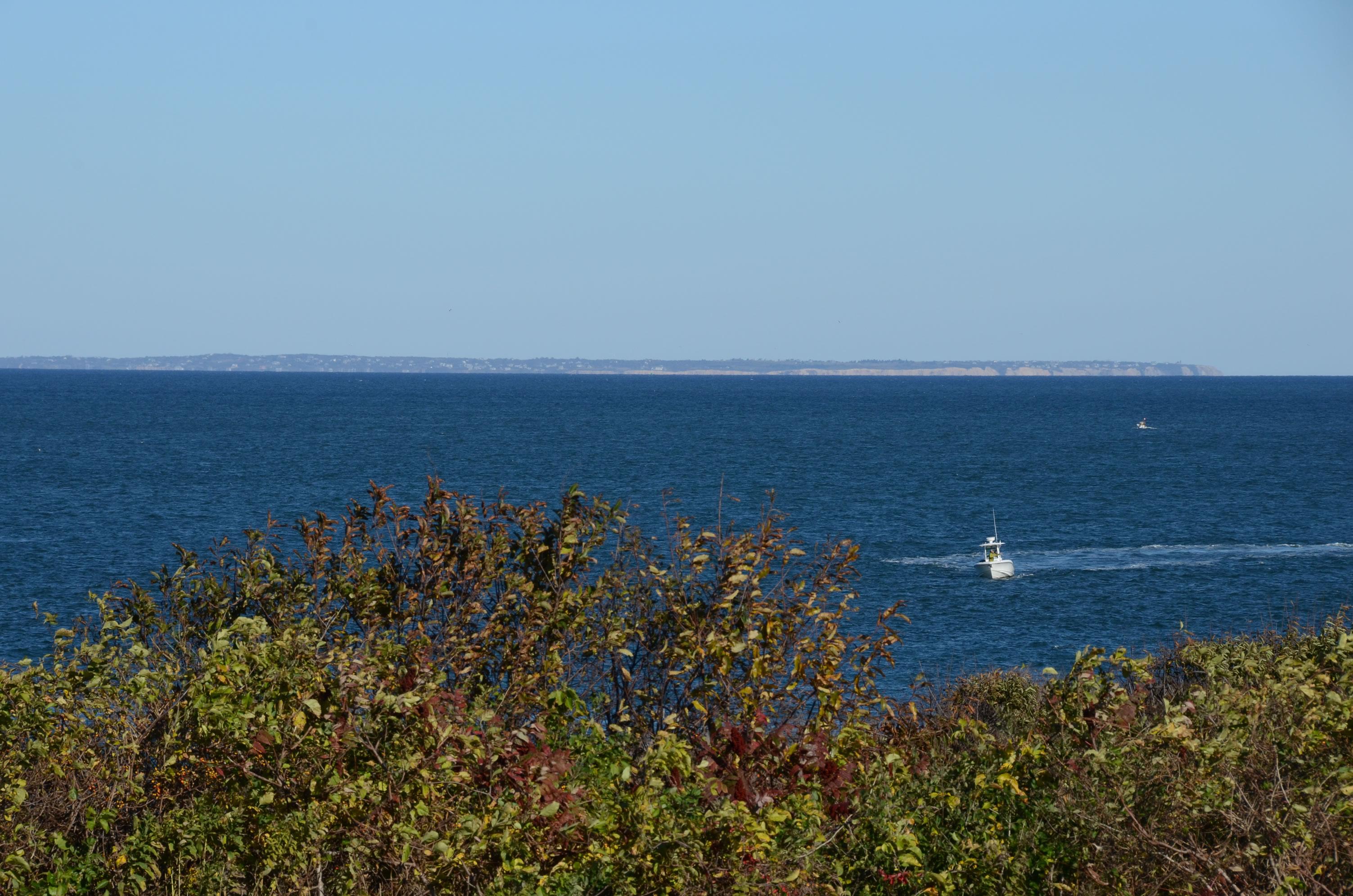 Fishing boat off Montauk